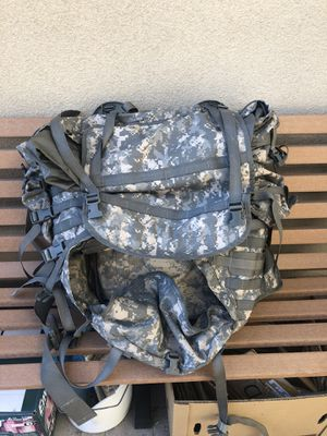 Back Pack- US army hiking/ travel bag for Sale in Montclair, CA