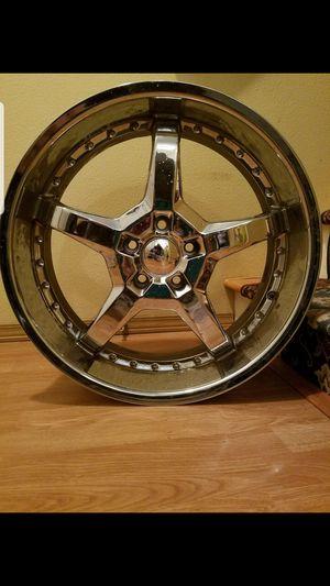"Mezzano 20"" rims/and tires for Sale in Portland, OR"