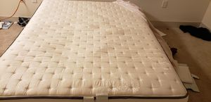 Spring box bed with mattress for Sale in San Jose, CA