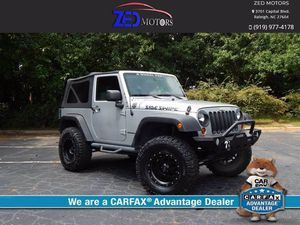 2010 Jeep Wrangler for Sale in Raleigh, NC