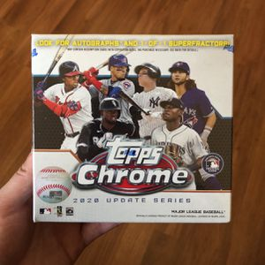 Topps Chrome Baseball Trading Cards 2020 for Sale in Los Angeles, CA