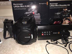 Black Magic 4.6k Ursa, V - lock for Sale in Atlanta, GA