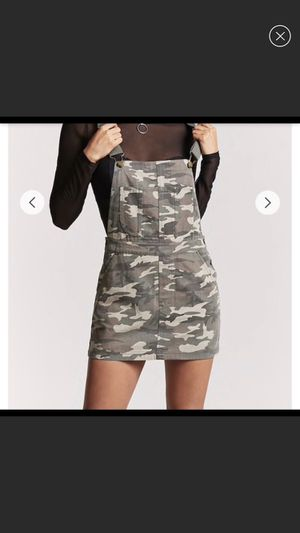 Camo overall dress for Sale in NO POTOMAC, MD