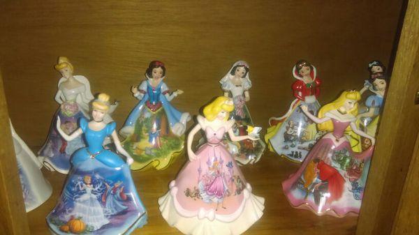 Disney's Princess porcelain bells