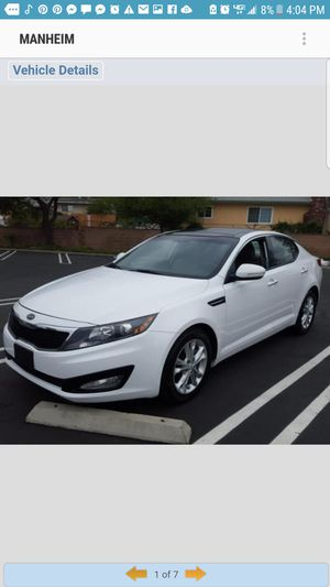 2012 kia optima $10500 no down payment okay ,easy fast financing for Sale in Richmond, CA