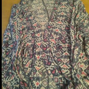 abercrombie kids l/xl cardigan could easy fit up to women's Medium for Sale in Huttonsville, WV