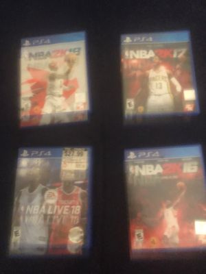Basketball Games Ps4 for Sale in Perris, CA