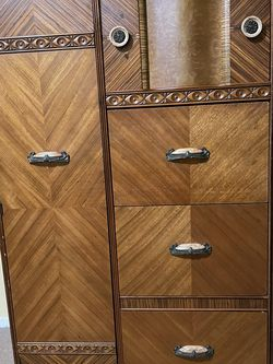 This is beautiful Art Deco 1920 - 30's Waterfall Chifforobe. (Armoire) Stunning. for Sale in Los Angeles,  CA