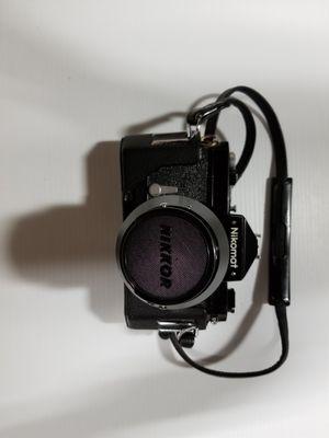 Nikon Nikomat FT 35 mm SLR with Vivitar lens for Sale in Santa Clara, CA