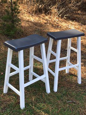 Saddle stools (set) •Refinished/Custom• for Sale in Hammonton, NJ