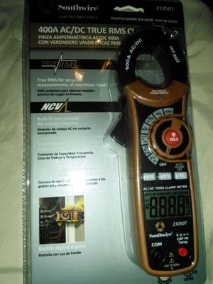 400A AC/DC Truer RMS Clamp Meter for Sale in Jacksonville, FL