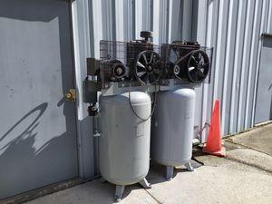 Compressor 80 gallon two-stage 175psi for Sale in Sanford, FL