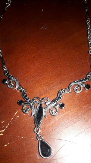 Silver Necklace & ring for Sale in Everett, WA
