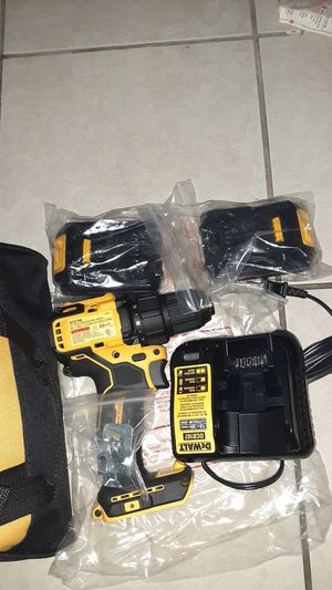 1/2 in drill driver with charger and two batteries for Sale in UPPR CHICHSTR, PA