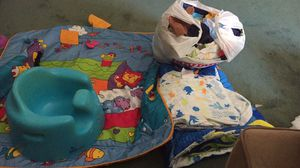 Baby clothes / mat / finding nemo bed set for Sale in Easton, MA