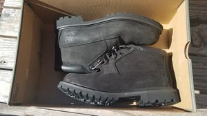 Lowcut Black Nubuck Timberland Boots Sz 7.5 New for Sale in San Francisco, CA