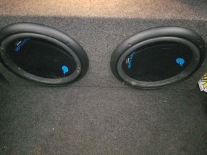 Buy Sealed speaker box get 12in subs free for Sale in La Vergne, TN