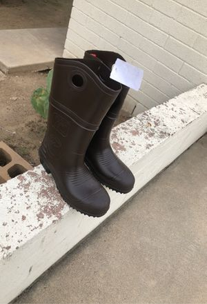 Steel toe rain boots for Sale in Anaheim, CA