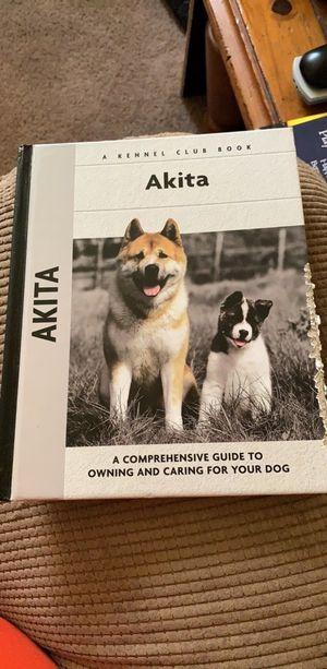Akita Book for Sale in Lynchburg, VA