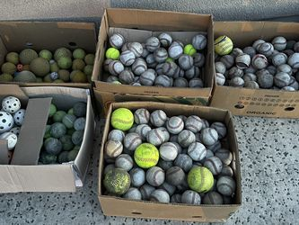 Baseball/softball/tennis balls for Sale in Gold River,  CA
