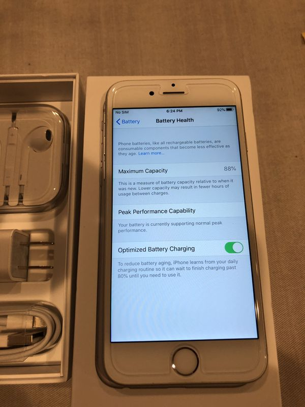 iPhone 6s 32 g unlocked for all carriers like new