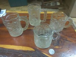 Complete Set of Batman Forever McDonald's Glass Mugs for Sale in Houston, TX