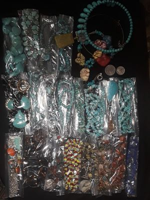 Huge Turquoise/Coral/Stone Jewelry Lot for Sale in Englewood, CO
