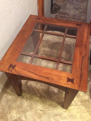 Wood Accent Table for Sale in Charlottesville, VA