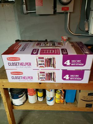Rubbermaid Closet Helper for Sale in Corfu, NY