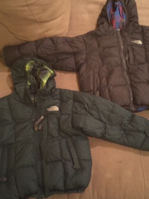North Face down unisex reversible coats for Sale in Fairfax, VA