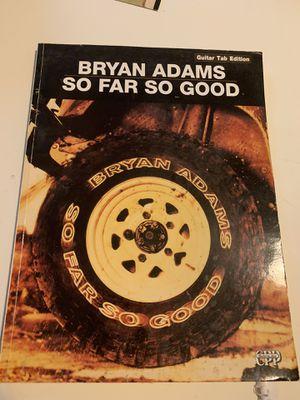Bryan Adams Guitar Tabs Book for Sale in Peoria, IL
