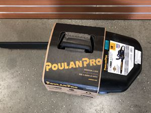PoulanPro PR4218 Gas Chainsaw 12970-2 for Sale in Chelsea, MA