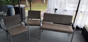 Patio furniture (3 piece) for Sale in West Palm Beach, FL