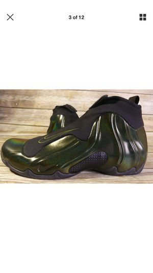 3f5bd6dfdb29 Nike Air Flightposite Legion Green Men s Size 11.5 AO9378-300 Basketball  Shoe for Sale in