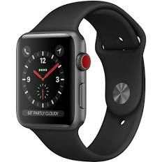 Apple Watch Series 3 Space Black Stainless Steel 42mm Includes 2 screen protectors (GPS & Cellular) for Sale in Buckeye, AZ