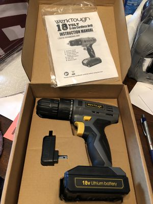 18 volt rechargeable drill brand new for Sale in Margate, FL