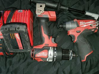 Milwaukee Hammer Drill And Impact for Sale in Erda,  UT