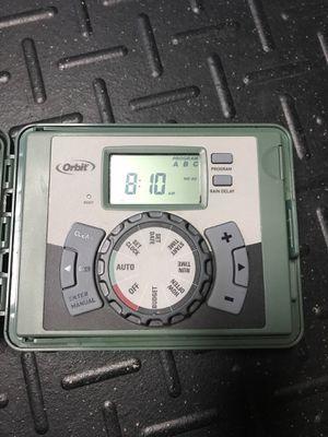 Orbit 6 Station indoor/outdoor sprinkler timer for Sale in Diamond Bar, CA