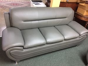 Sofa and loveseat (Black and gray color available) for Sale in Miramar, FL
