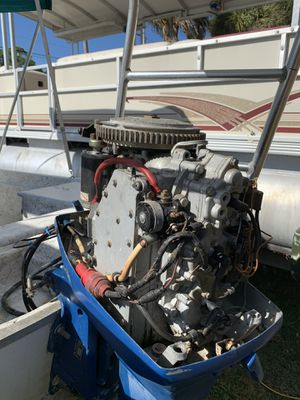 2000 Polar Flats Boats 17.5 comes with trailer 70 johnson motor for Sale in Edgewater, FL