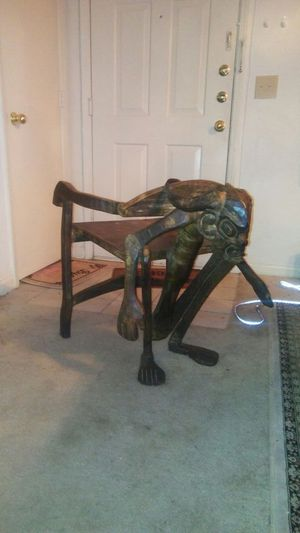Antique indonesian chair/TODAY ONLY!!! for Sale in Chamblee, GA