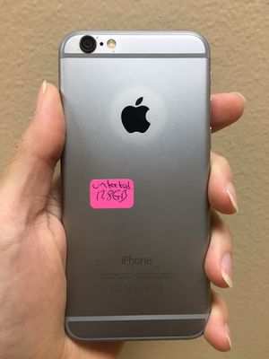 iPhone 6 Plus 128gb factory unlocked, iphone AT&T, T-Mobile,Cricket Metro pcs, Verizon, Straight talk Simple mobile, unlocked, iphone for Sale in Dallas, TX