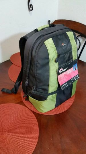BRAND NEW Lowepro Compudaypack Cooler Backpack Beer Soda Cans Hiking Camping Outdoors PaddedCommuter6 Pack Travel Camera Notebook Laptop Quality for Sale in El Cajon, CA