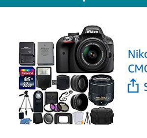 Nikon D3300 24.2 Megapixel for Sale in Monroe, LA