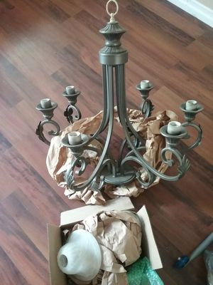 Chandelier and globes for Sale in Mission Viejo, CA