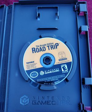 Road Trip The Arcade Edition game for Nintendo GameCube for Sale in Las Vegas, NV