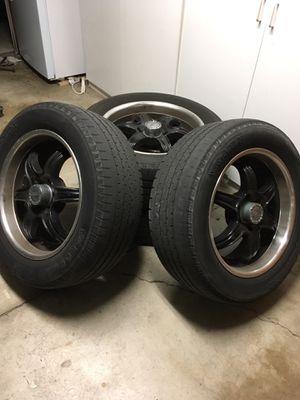 """20"""" rims w/ 275/55 R20 tires for Sale in Santa Ana, CA"""