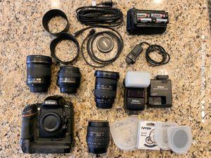 Nikon D800 DSLR Camera for Sale in Lake Elsinore, CA