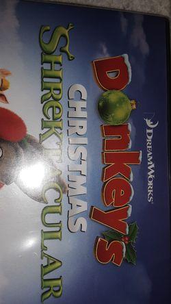 Shrek donkey Christmas dvd for Sale in Alhambra,  CA