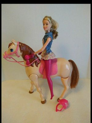 Mattel Barbie Saddle N Ride Walking Horse for Sale in Chula Vista, CA